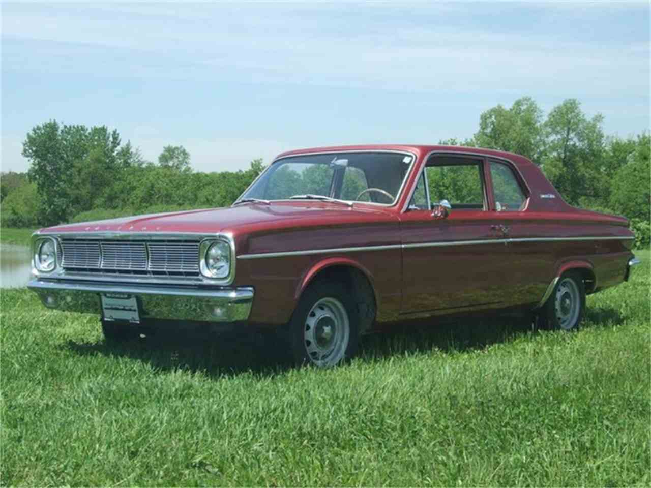 Large Picture of '66 Valiant - 4RUE