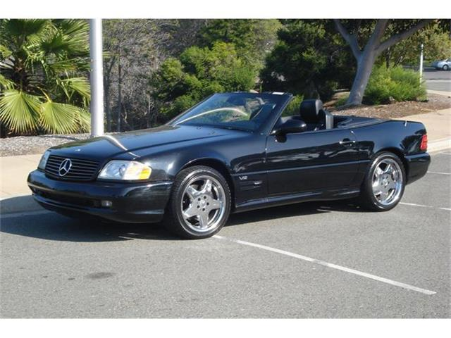 2000 Mercedes-Benz SL600 | 272073