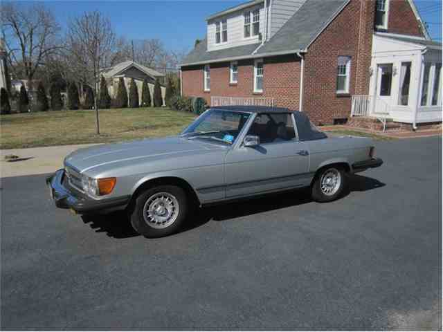 1978 Mercedes Benz 450sl For Sale On 19