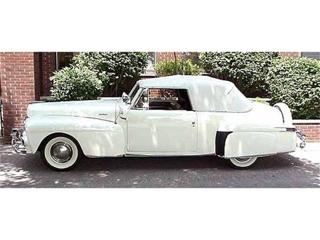 1947 LINCOLN CONTINENTAL MARK I CONVERTIBLE | 335639