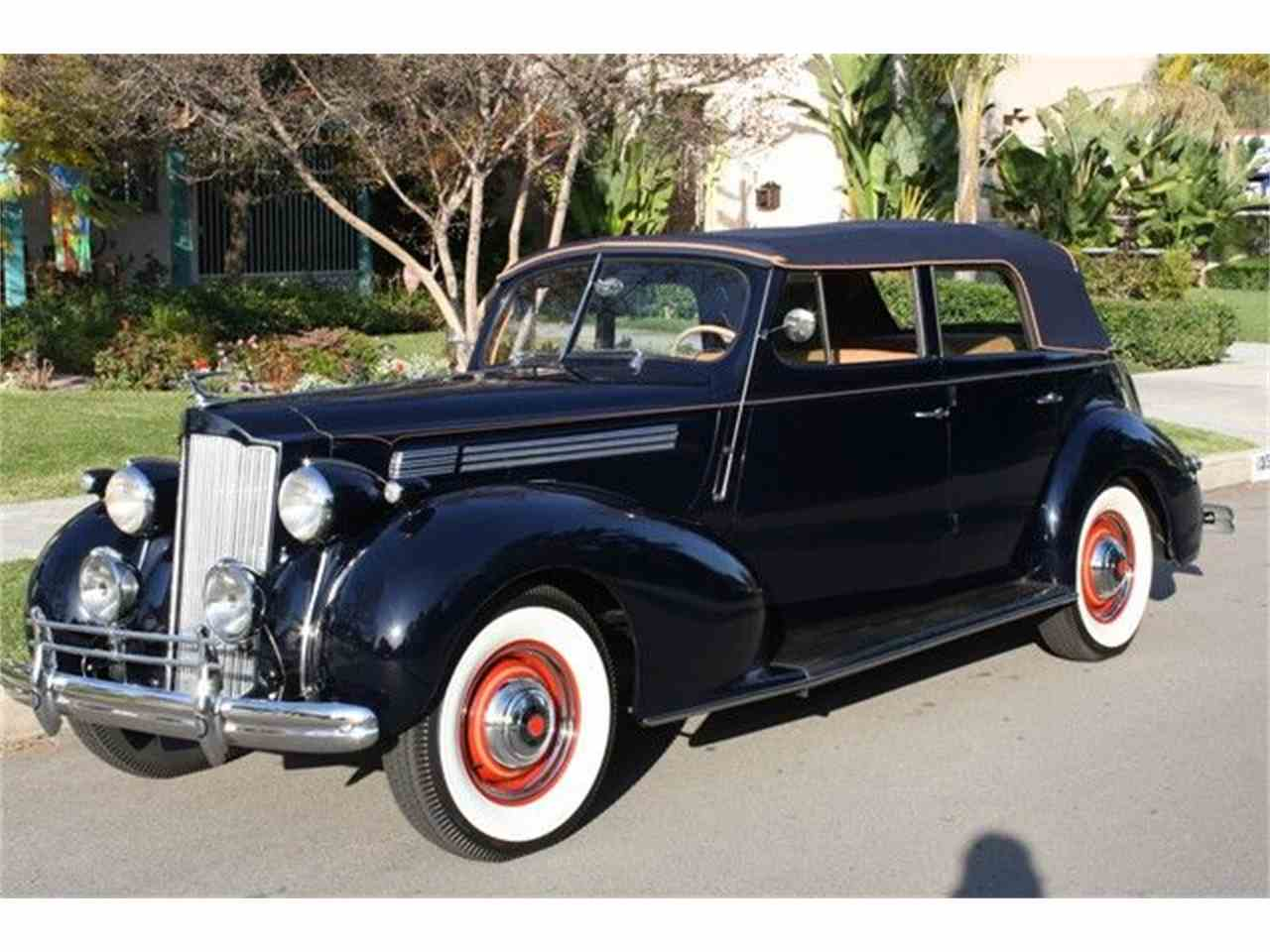 1939 packard sedan for sale cc 335654. Black Bedroom Furniture Sets. Home Design Ideas