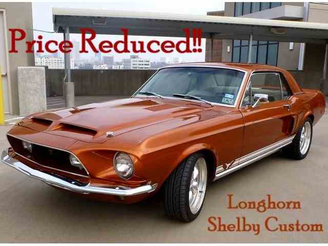 1968 FORD MUSTANG LONGHORN SHELBY CUSTOM | 395163