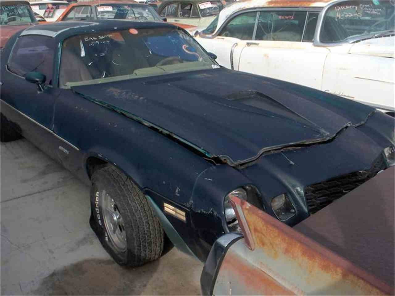 Large Picture of '80 Camaro - 8IC0