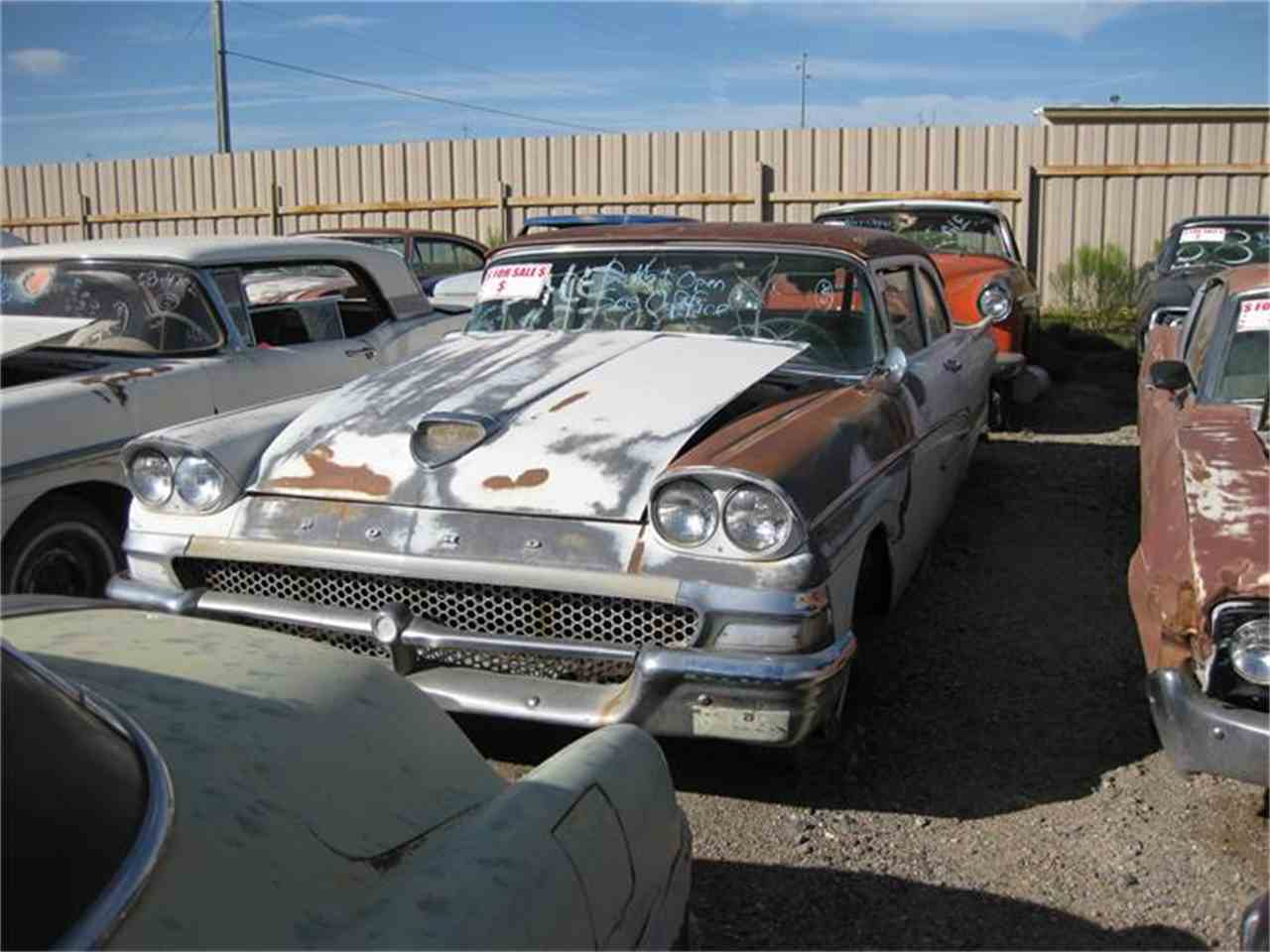 Large Picture of '58 Fairlane - 8ICA