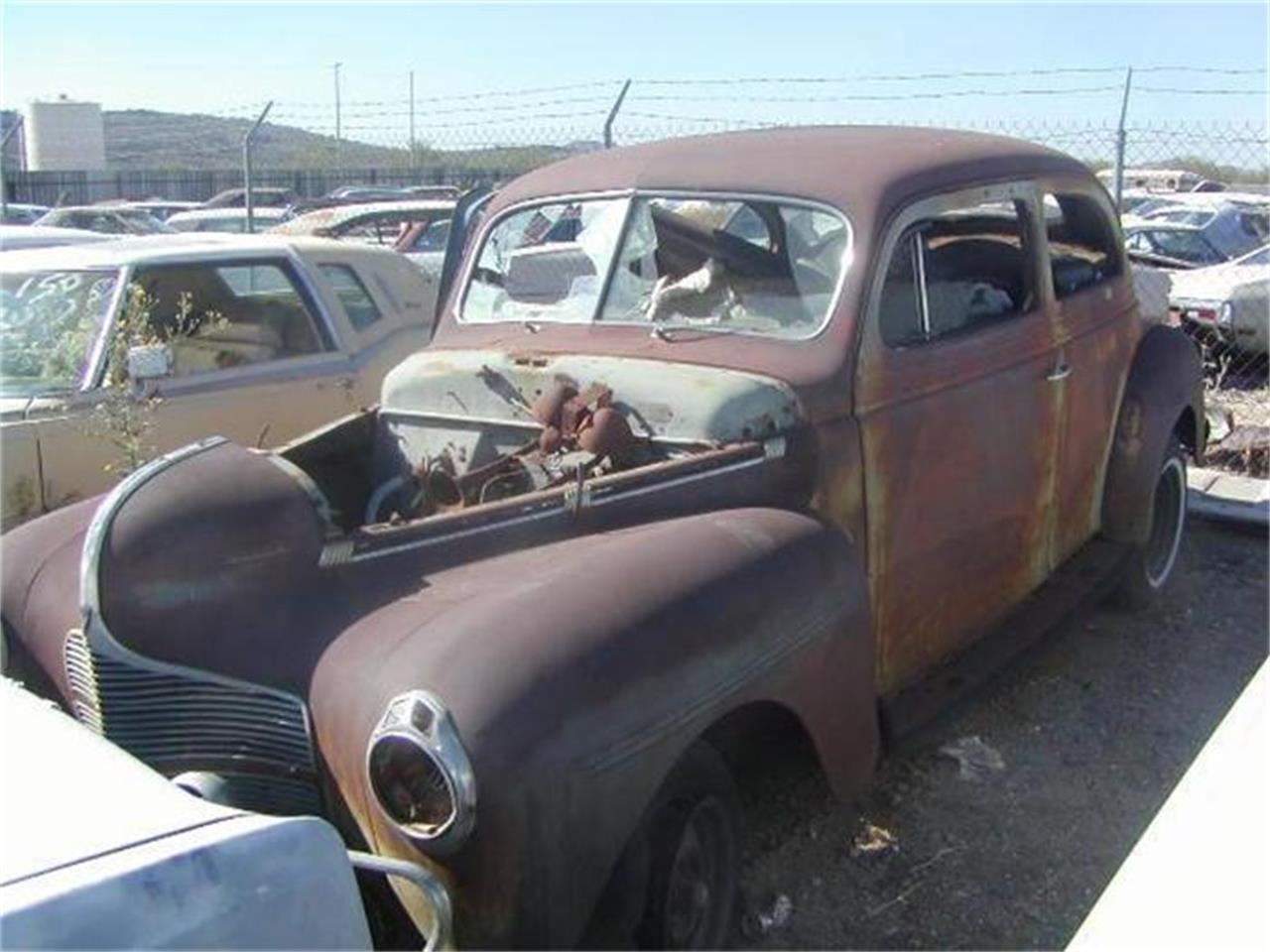 Image gallery 1940 dodge for 1940 dodge 4 door sedan
