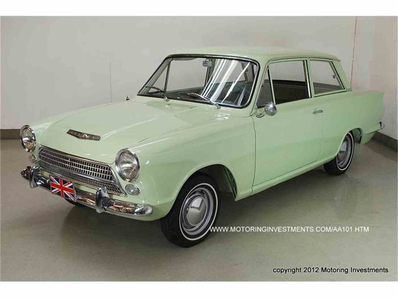 Large Picture of '62 Cortina - 8KVC