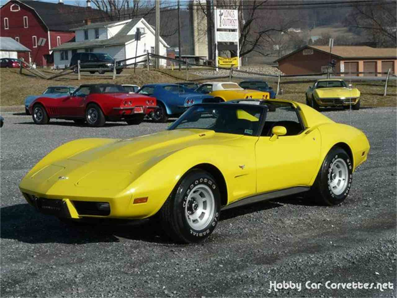 Large Picture of '77 Corvette - 8P2D