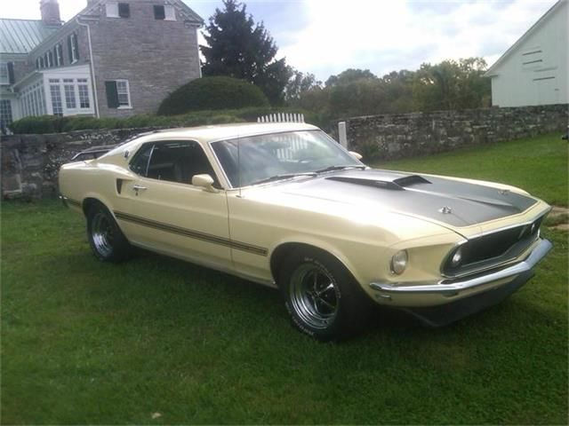 1969 Ford Mustang Mach 1 | 417652