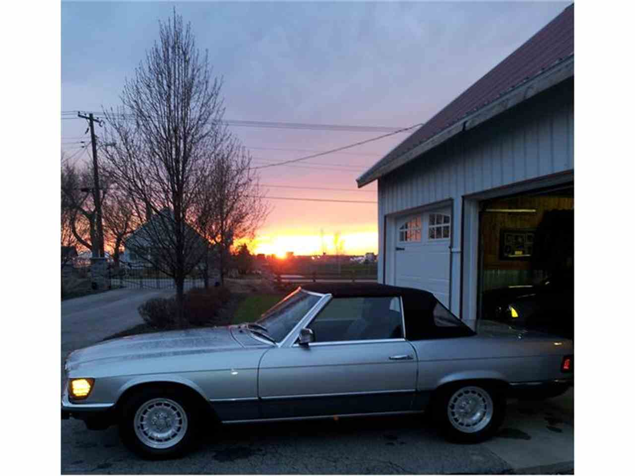 1982 mercedes benz 500sl for sale cc for Mercedes benz indiana
