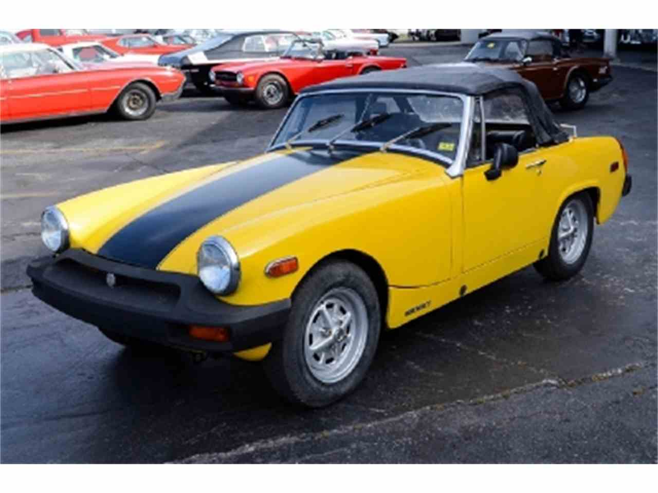 1976 mg midget for sale cc 427349. Black Bedroom Furniture Sets. Home Design Ideas