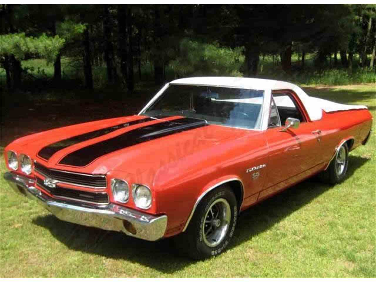 1970 chevrolet el camino ss for sale cc 427570. Black Bedroom Furniture Sets. Home Design Ideas