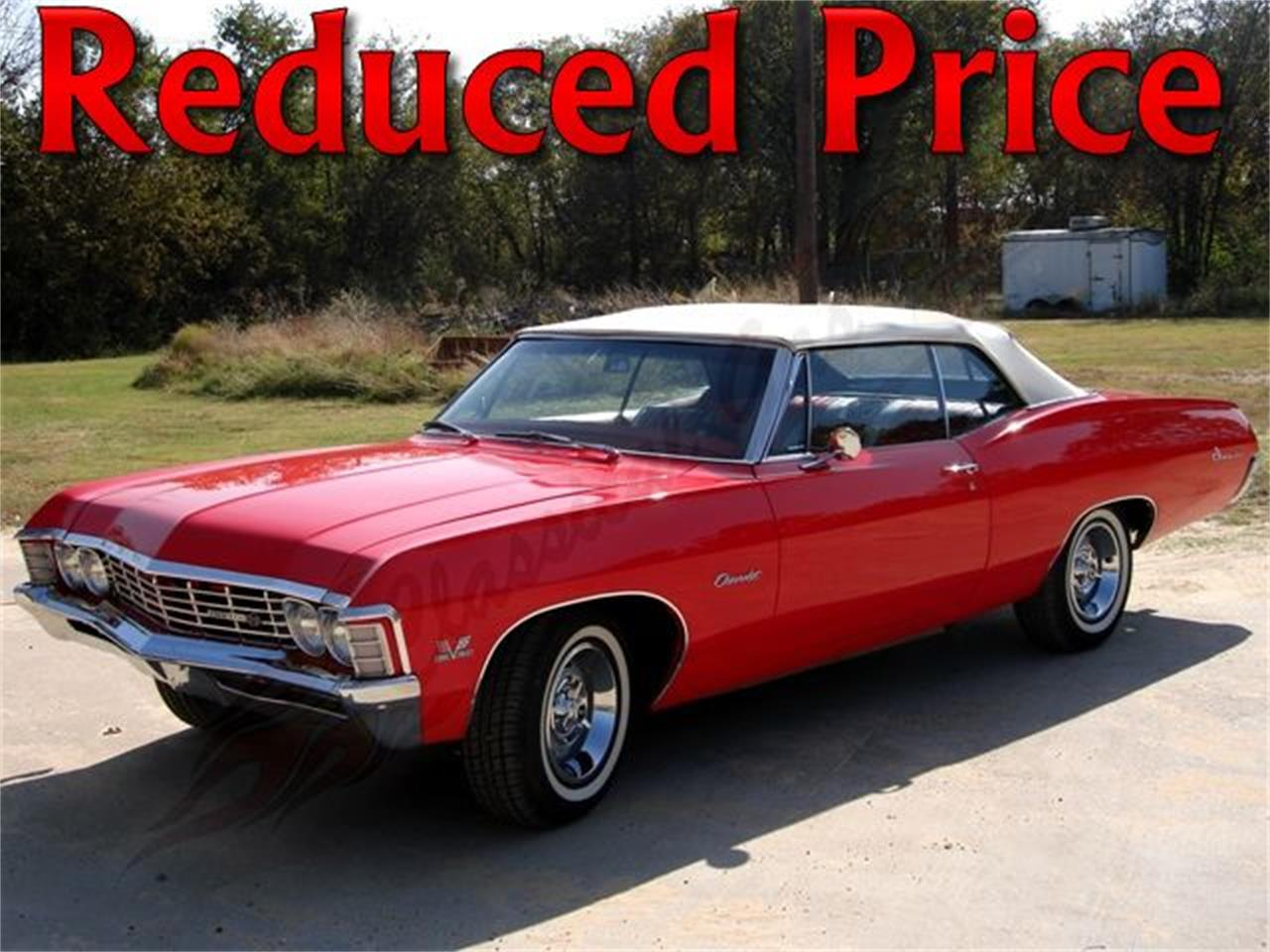 1967 Chevrolet Impala Ss For Sale Classiccars Com Cc