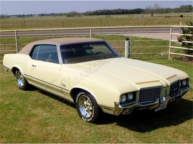 1972 Oldsmobile Cutlass Supreme | 444354