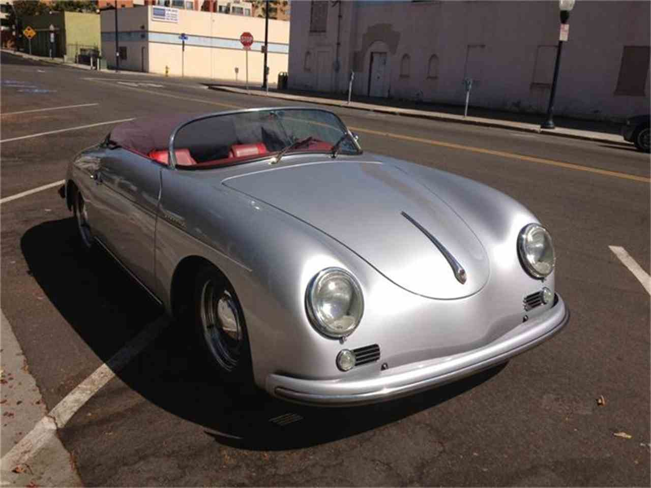 1957 porsche speedster for sale cc 445817. Black Bedroom Furniture Sets. Home Design Ideas