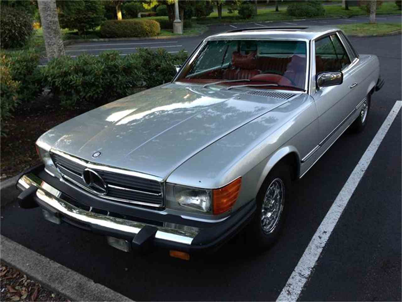 1977 mercedes benz 450slc for sale cc. Black Bedroom Furniture Sets. Home Design Ideas
