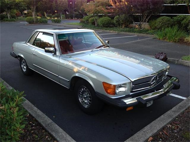 1977 mercedes benz 450slc for sale cc for Mercedes benz vancouver wa