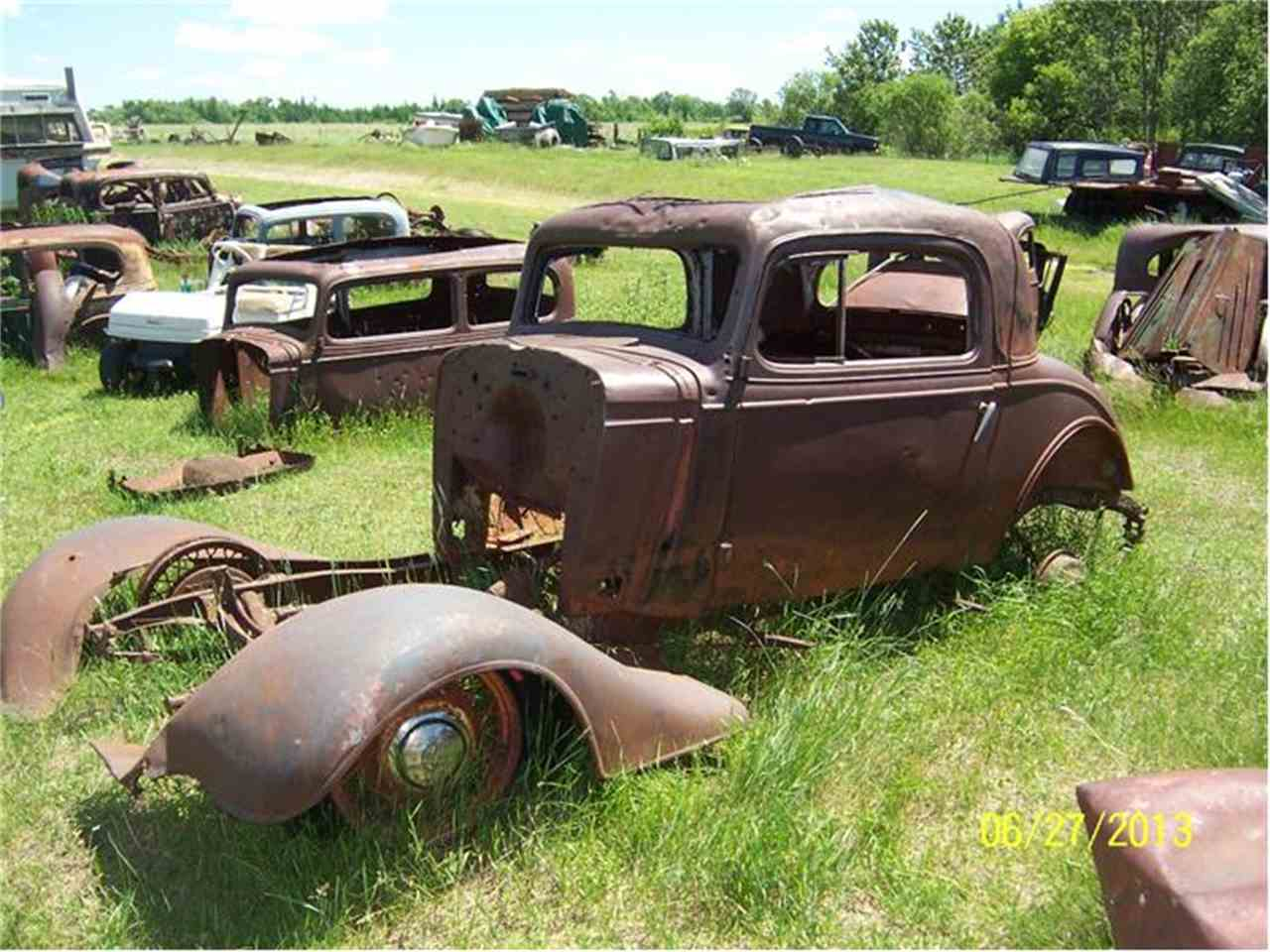 1935 Chevrolet 3 Window Coupe For Sale Classiccars Com