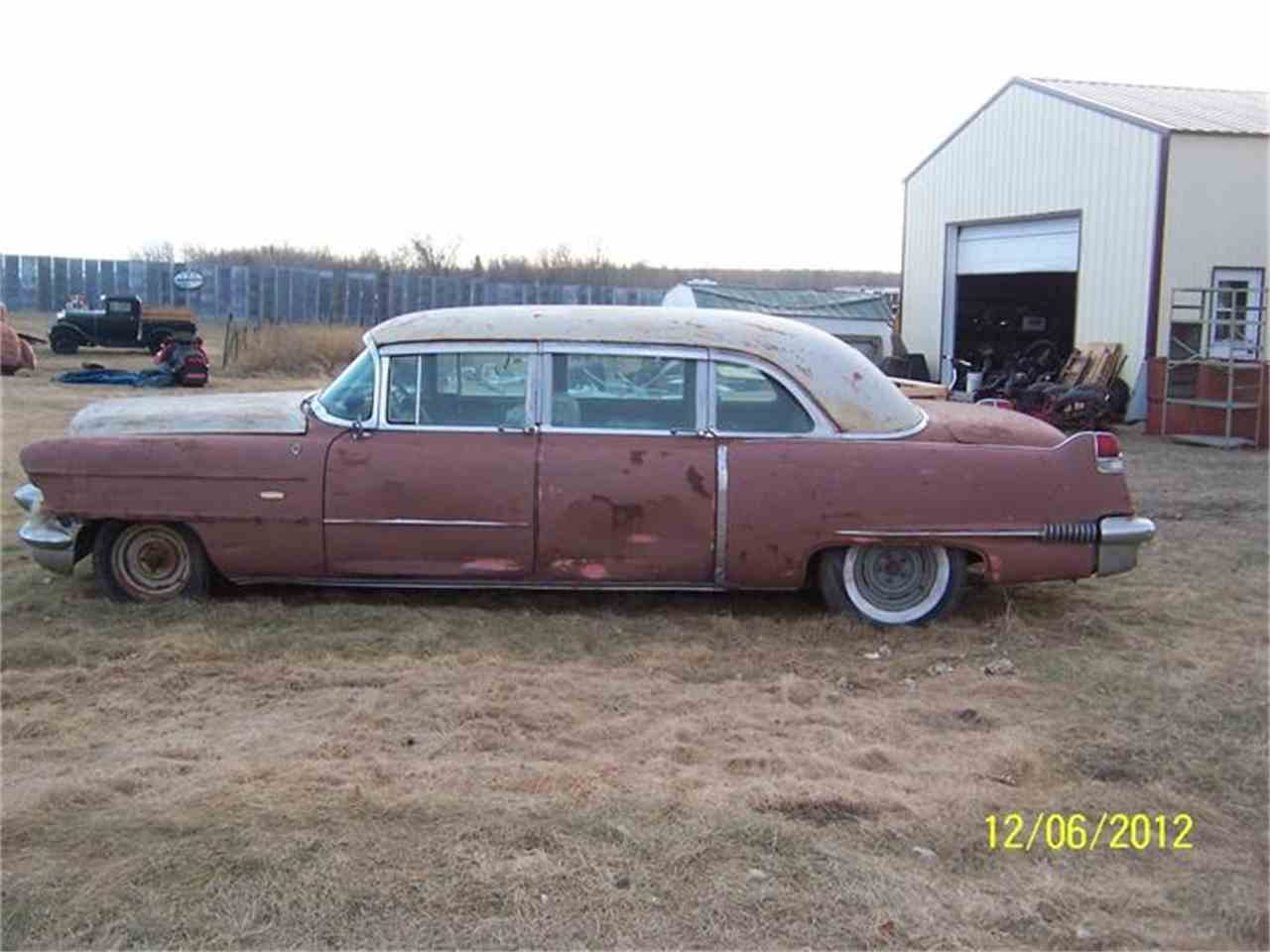 Large Picture of '56 Fleetwood Limousine - $3,500.00 - ANIM