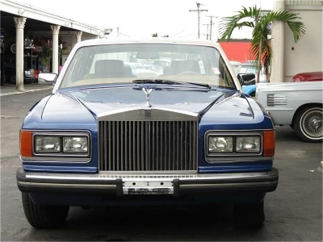 1986 Rolls-Royce Silver Spur   500137