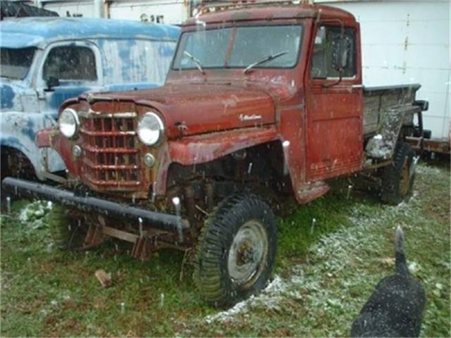 1950 White Pickup   503027