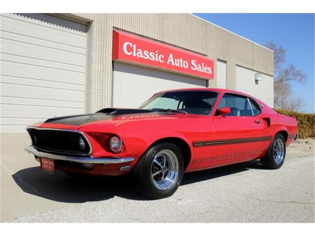 1969 Ford Mustang Mach 1 | 508909