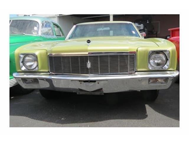 1971 Chevrolet Monte Carlo | 512281