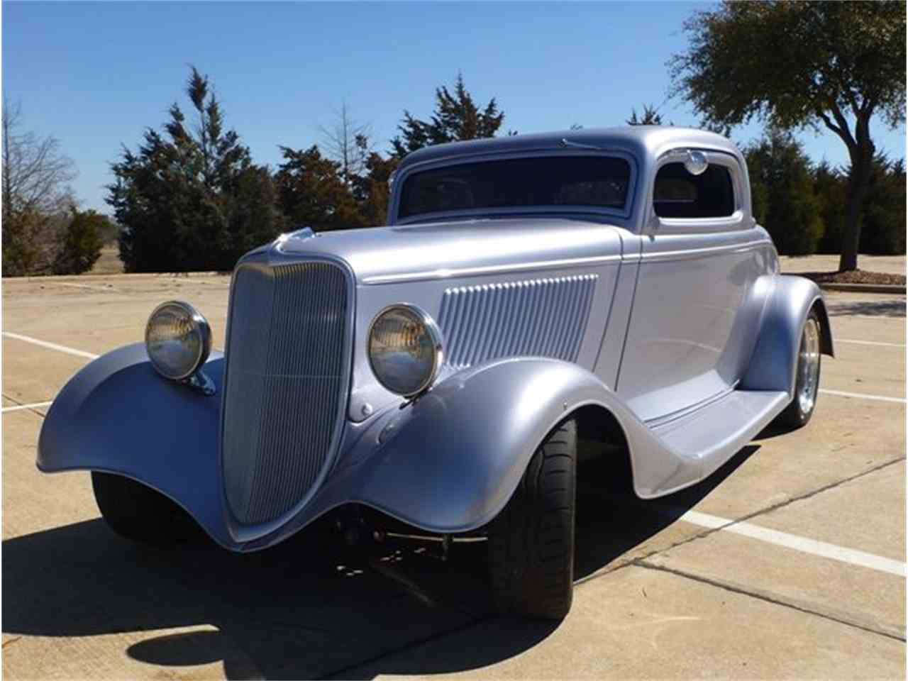 1934 ford 3 window coupe for sale cc 510029. Black Bedroom Furniture Sets. Home Design Ideas