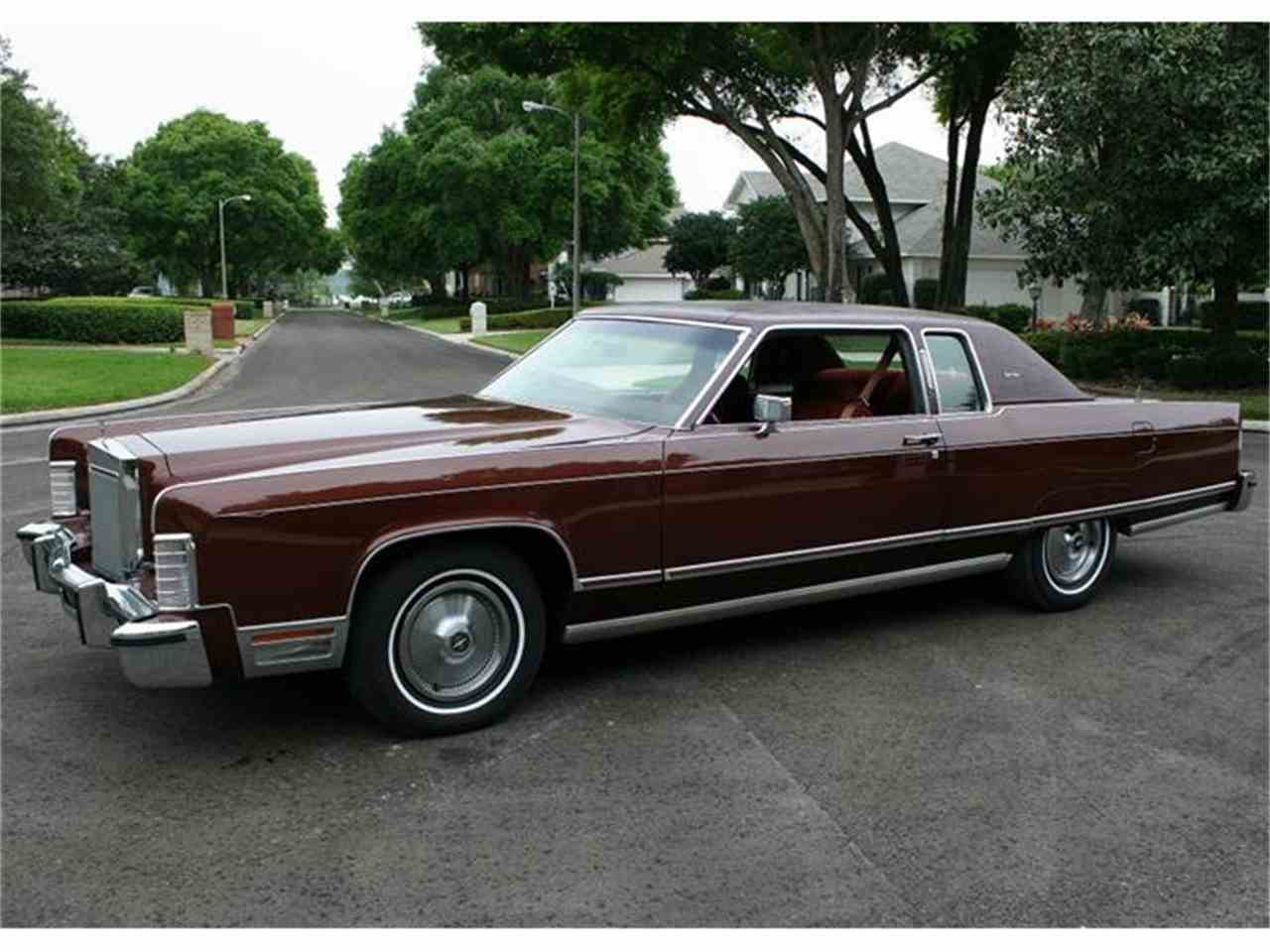 1977 Lincoln Town Coupe For Sale Cc 514692