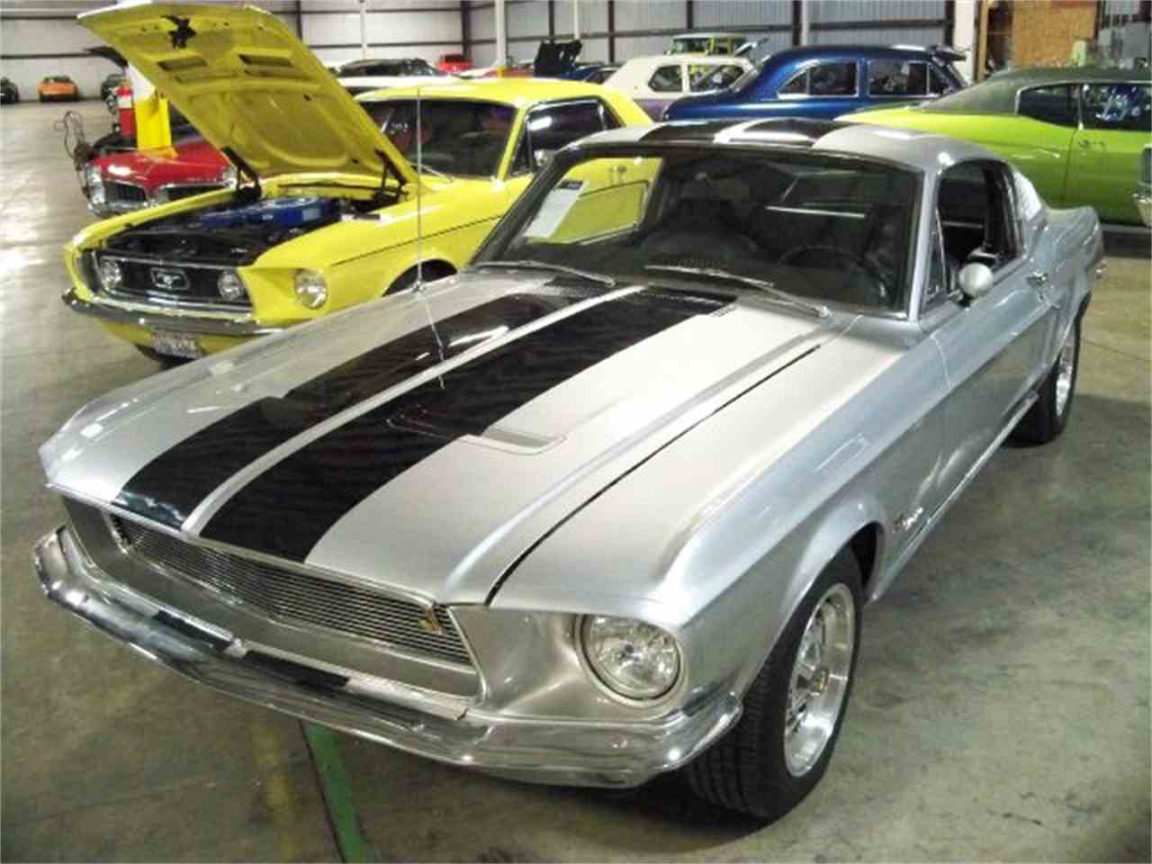 1968 ford mustang for sale cc 534759. Black Bedroom Furniture Sets. Home Design Ideas