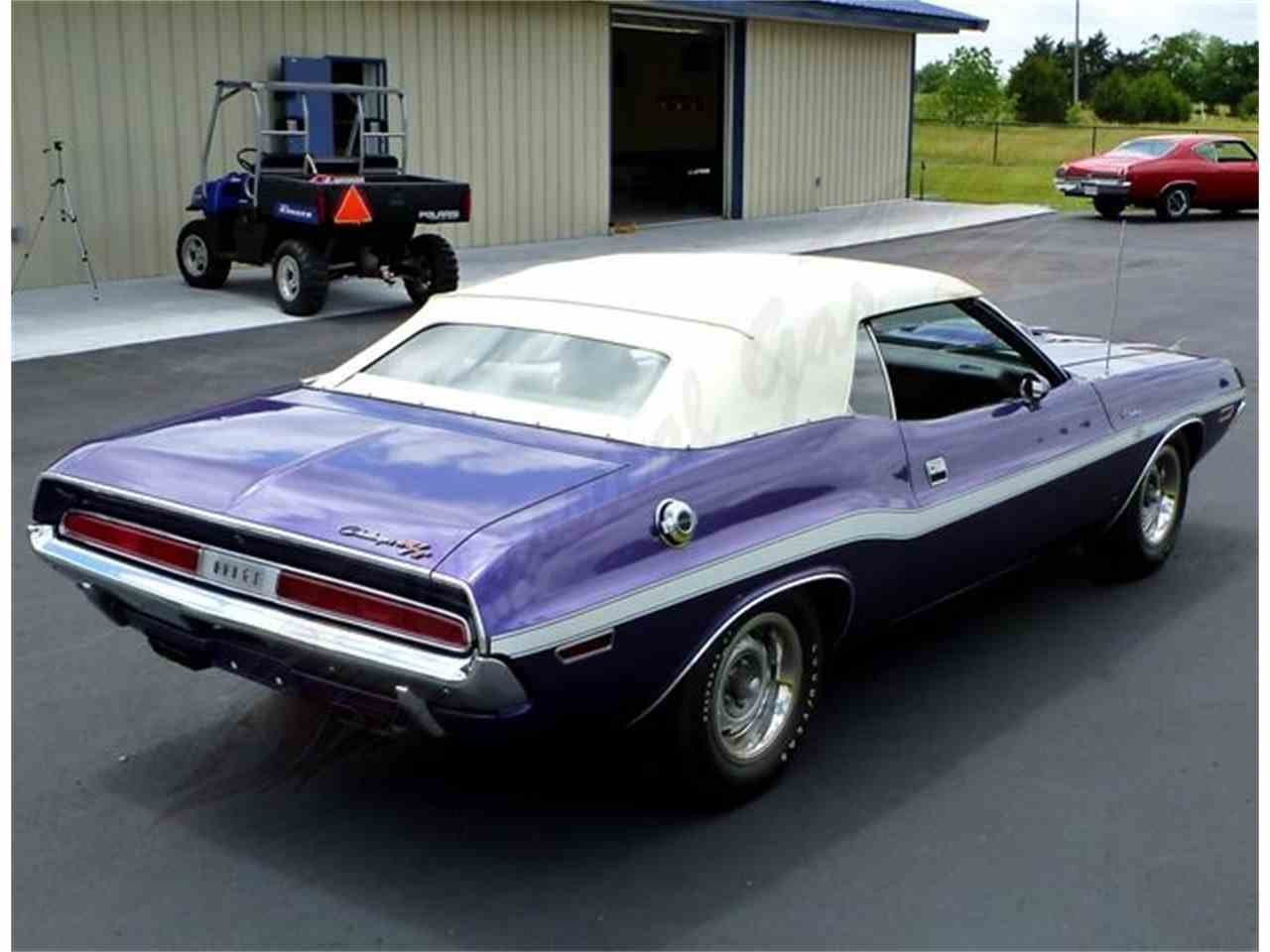 1970 dodge challenger convertible r t for sale cc 554035. Black Bedroom Furniture Sets. Home Design Ideas