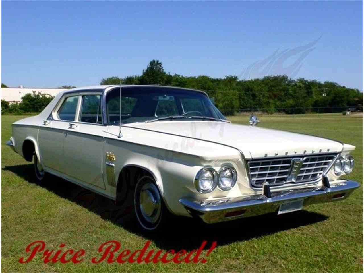 1963 chrysler new yorker for sale cc. Black Bedroom Furniture Sets. Home Design Ideas