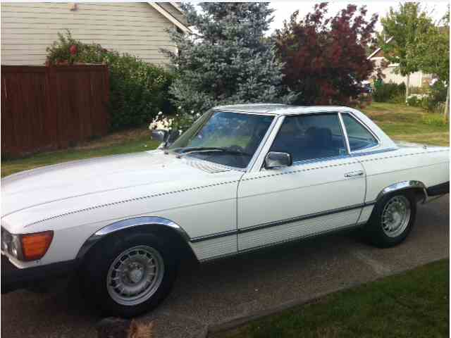 1982 mercedes benz 380sl for sale on for 380sl mercedes benz for sale