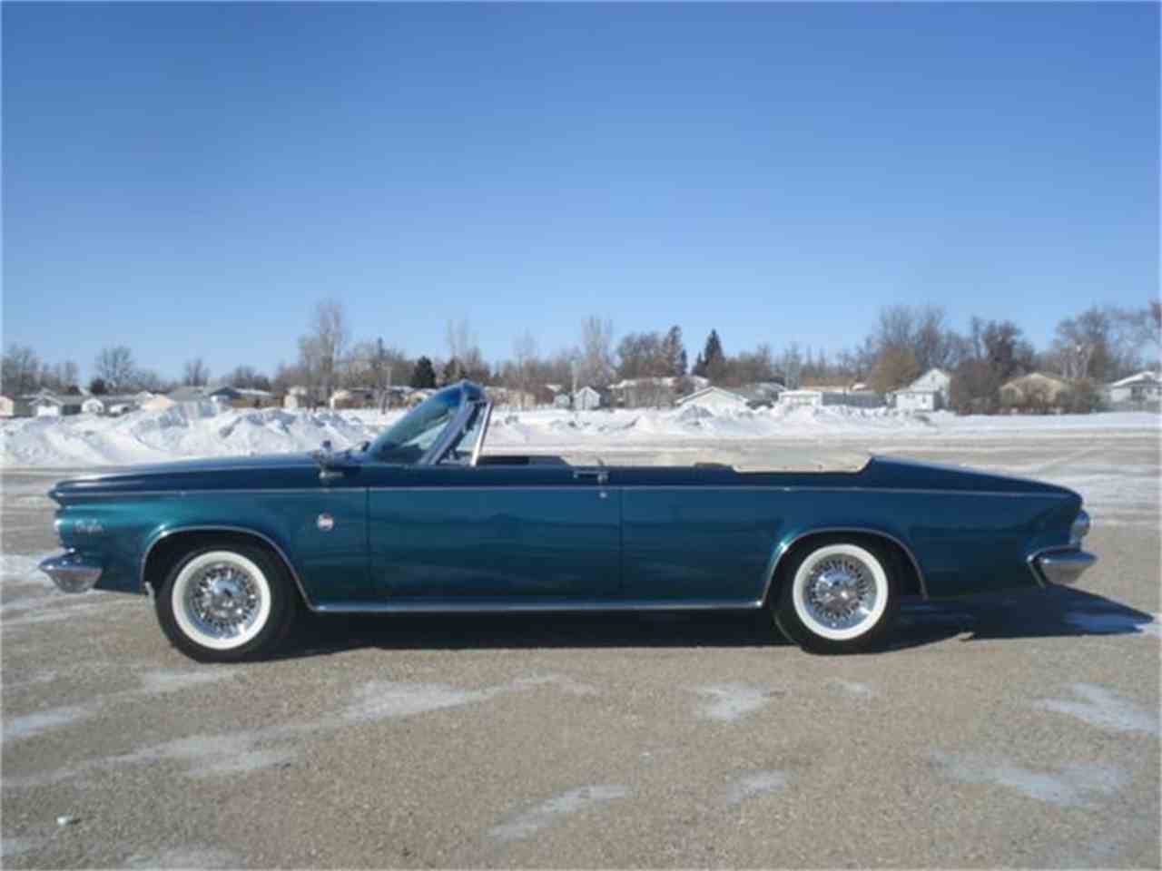 1963 chrysler 300 pacesetter edition convertible for sale cc 557962