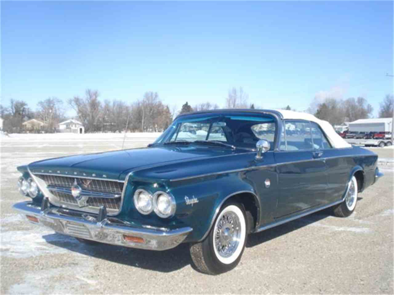 1963 chrysler 300 pacesetter edition convertible for sale cc 557962. Black Bedroom Furniture Sets. Home Design Ideas