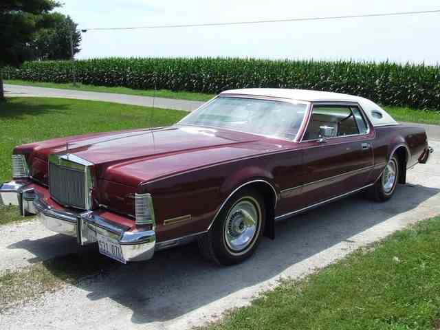 1975 lincoln continental for sale on 5 available. Black Bedroom Furniture Sets. Home Design Ideas