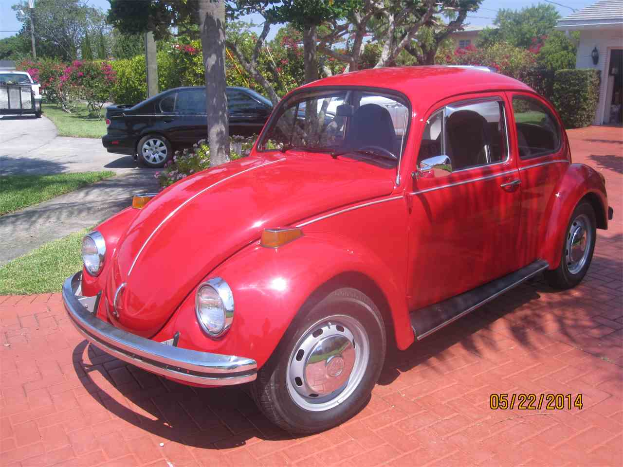 1973 volkswagen beetle for sale cc 565681. Black Bedroom Furniture Sets. Home Design Ideas