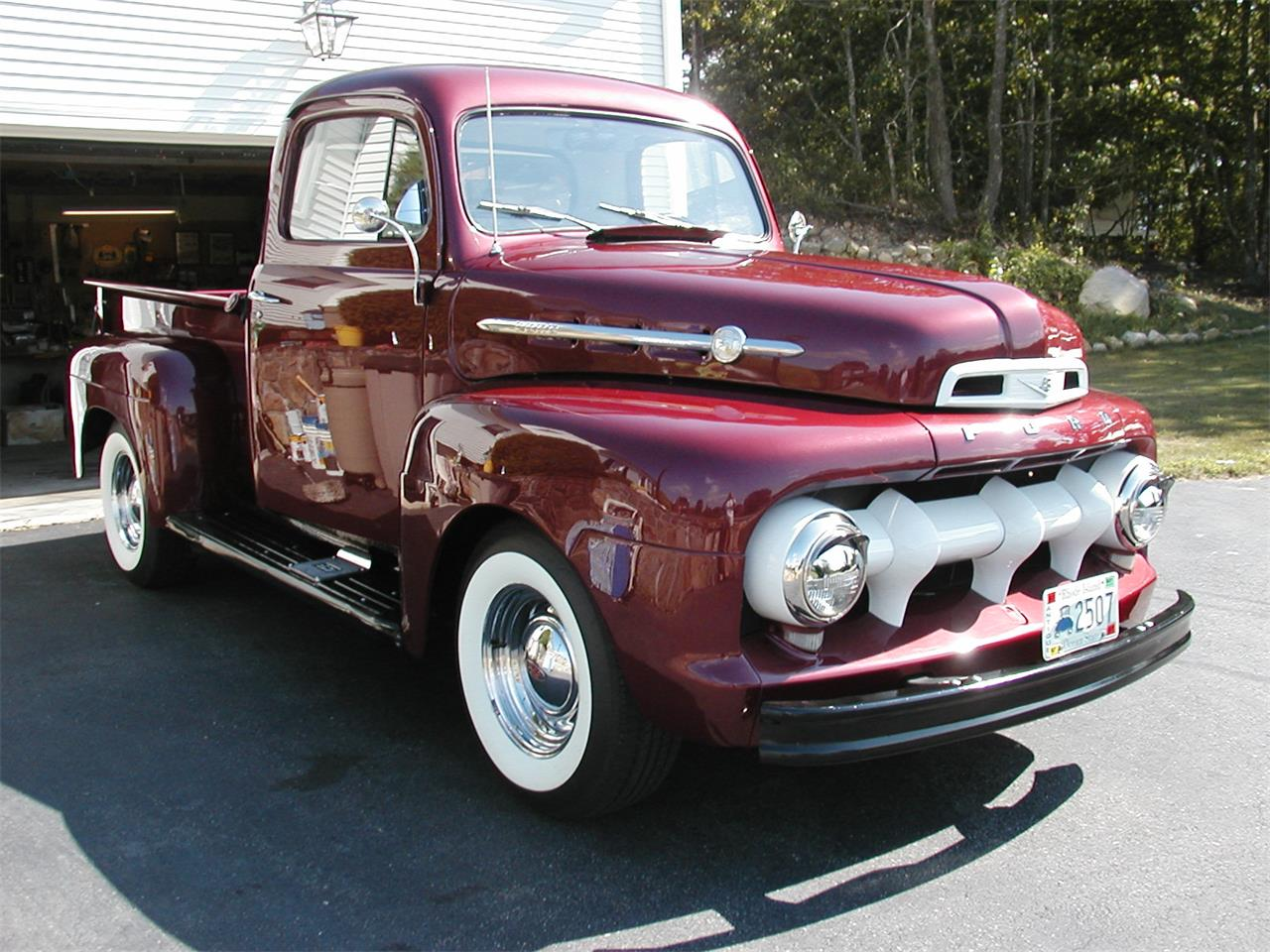 1952 ford f1 pickup for sale cc 582265. Black Bedroom Furniture Sets. Home Design Ideas