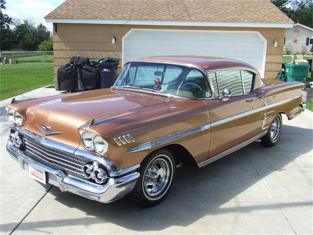 1958 chevrolet impala for sale cc 582759. Black Bedroom Furniture Sets. Home Design Ideas