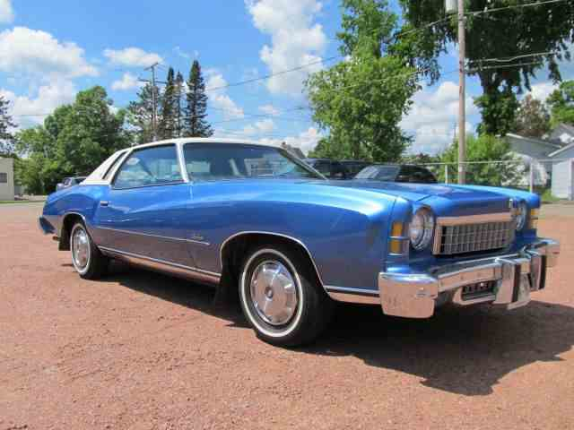 1974 Chevrolet Monte Carlo for Sale on ClassicCars.com