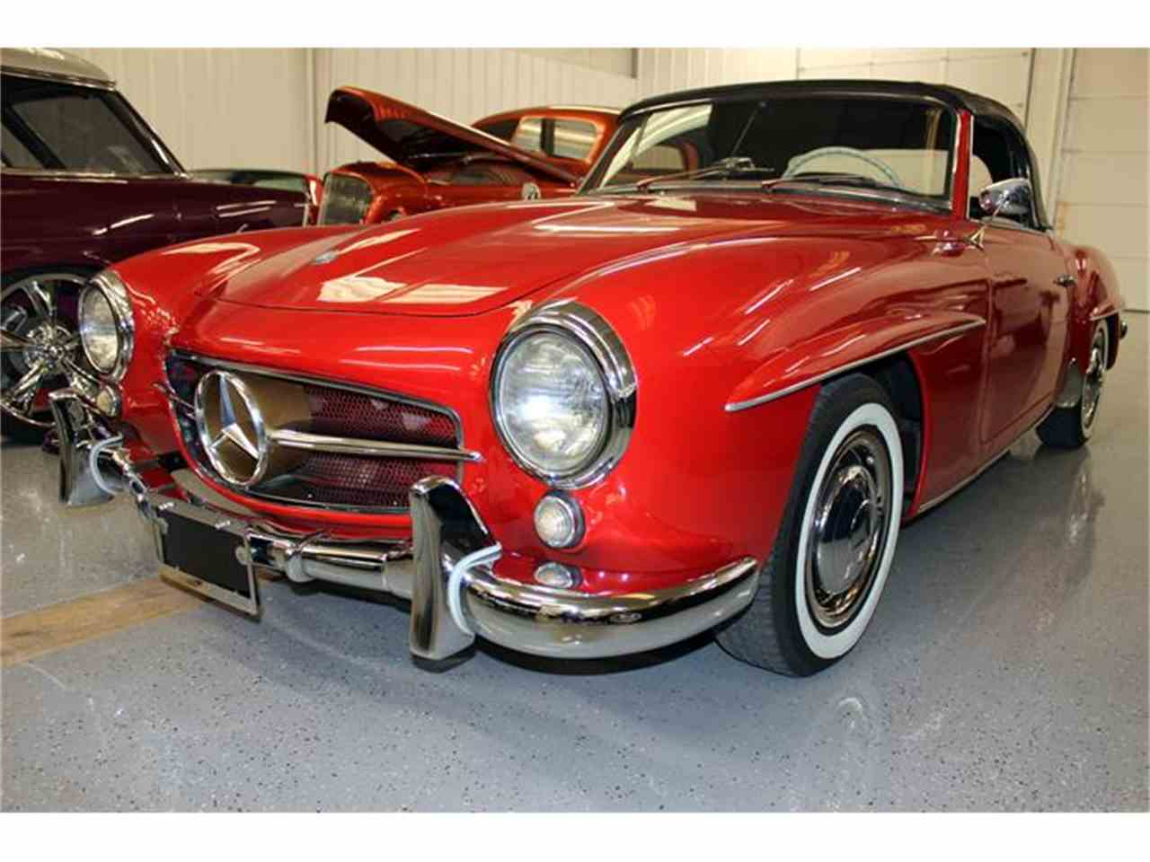 1958 mercedes benz 190sl for sale cc for Mercedes benz for sale in texas