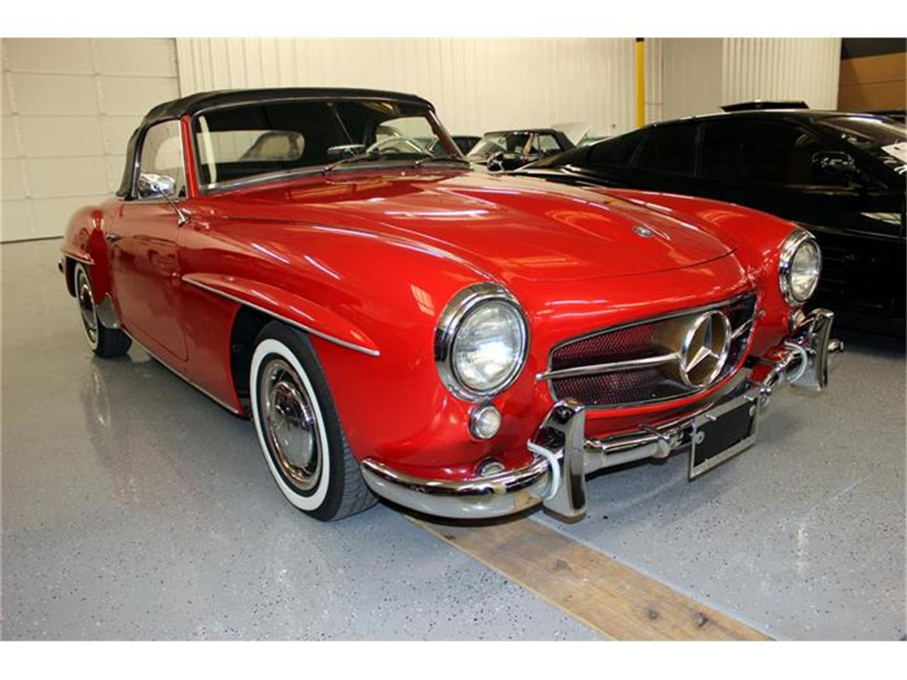1958 mercedes benz 190sl for sale cc for Mercedes benz ft worth