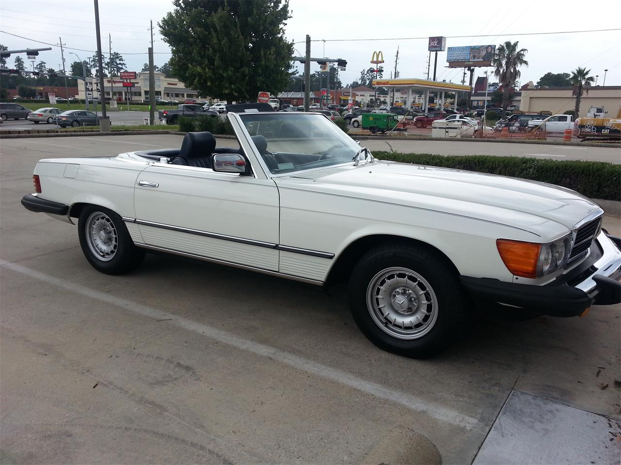 1984 mercedes benz 380sl for sale cc for Mercedes benz for sale in texas