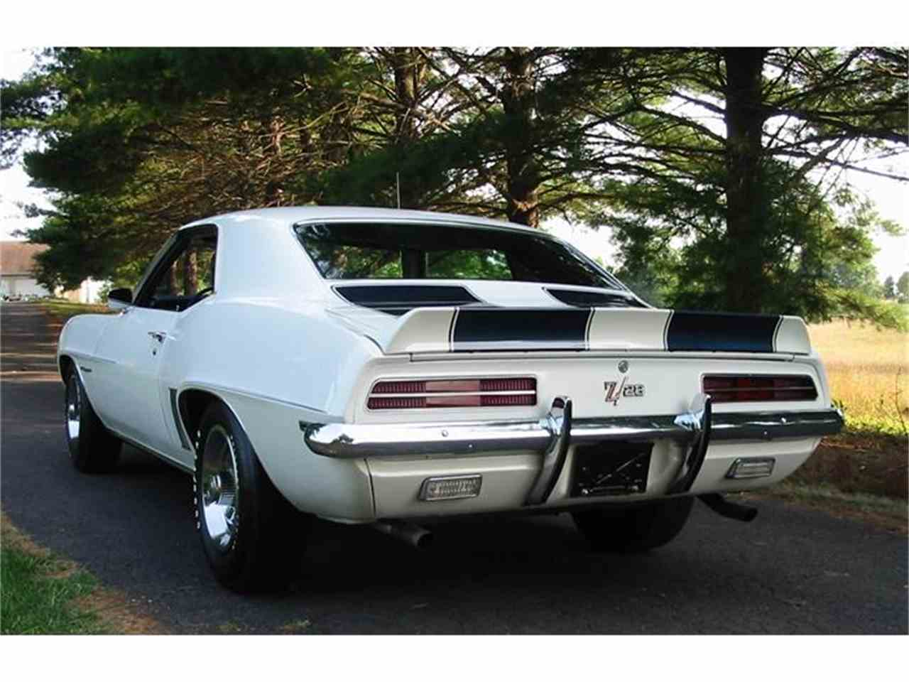 1969 chevrolet camaro z28 for sale cc 588598. Black Bedroom Furniture Sets. Home Design Ideas
