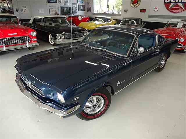 1965 FORD MUSTANG  FASTBACK 2+2 | 589591