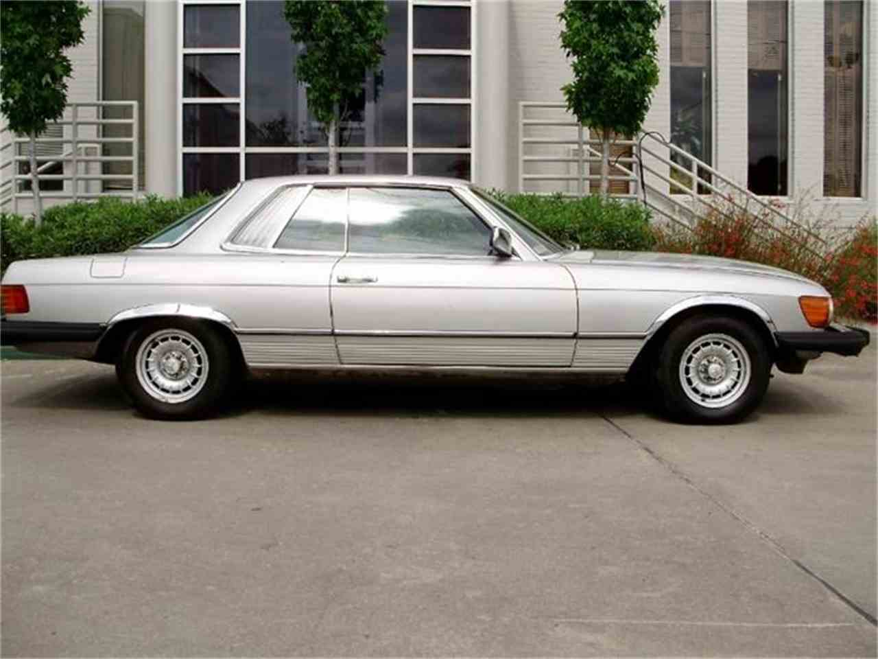 1981 mercedes benz slc for sale cc 591772 for Mercedes benz for sale in houston