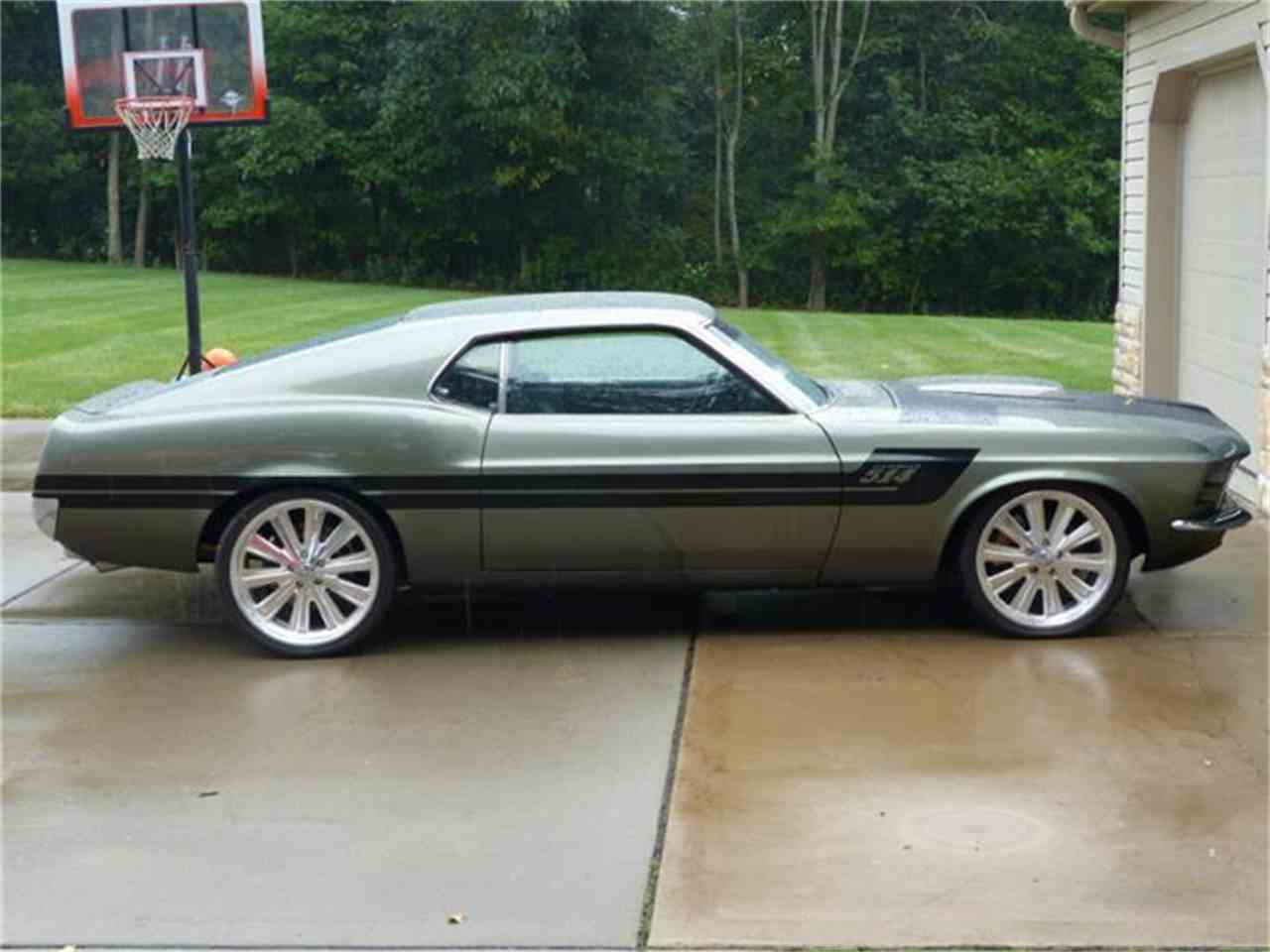 1970 ford mustang for sale cc 593693. Black Bedroom Furniture Sets. Home Design Ideas