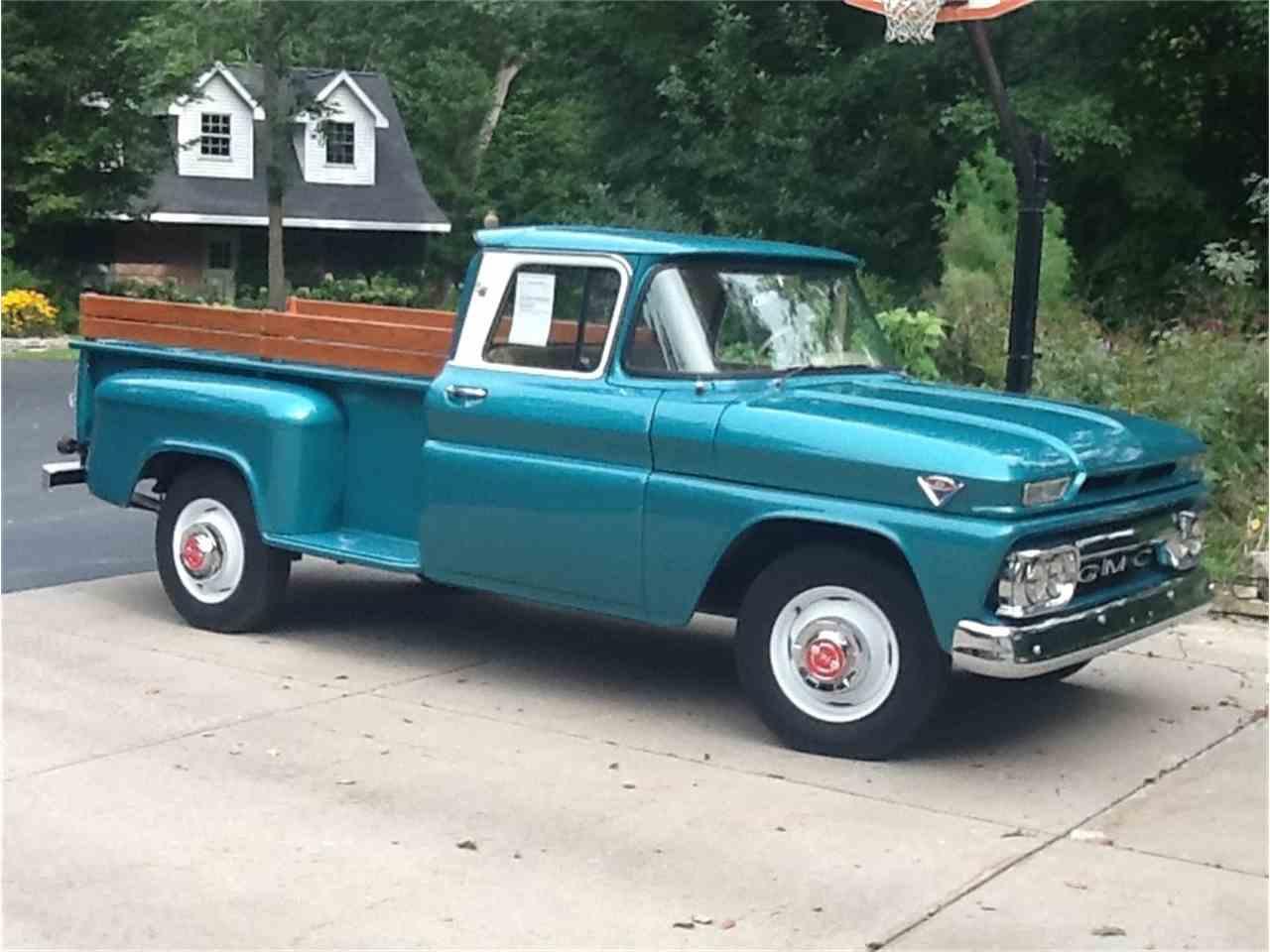 1963 gmc pickup for sale cc 595571. Black Bedroom Furniture Sets. Home Design Ideas