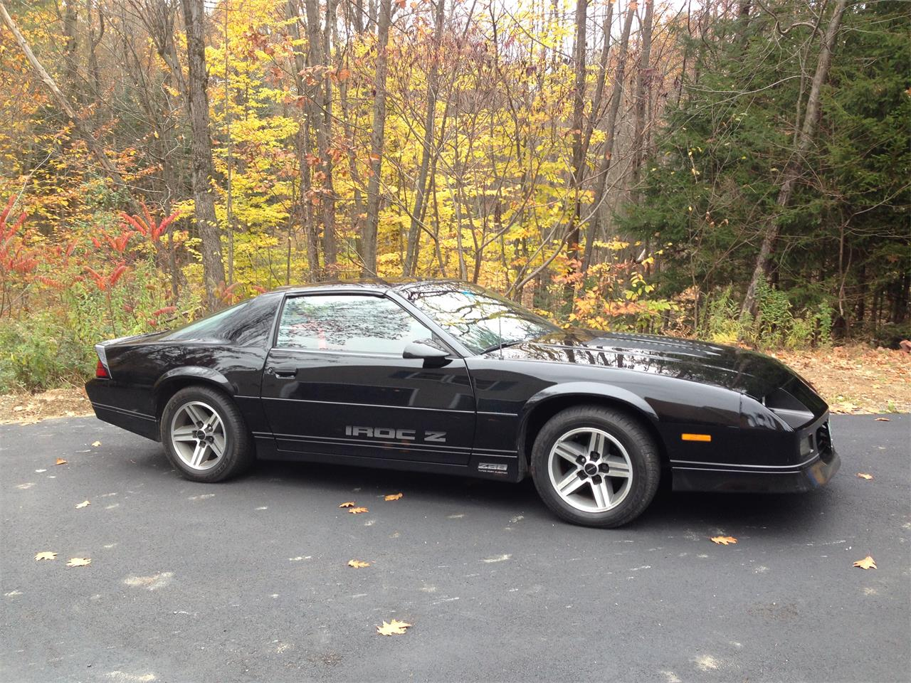 1986 chevrolet camaro iroc z28 for sale cc 597620. Black Bedroom Furniture Sets. Home Design Ideas