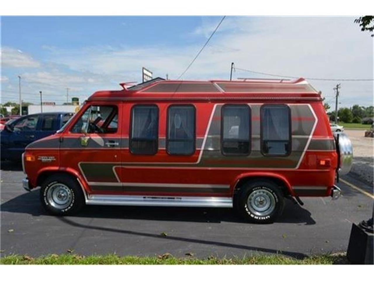 1984 Chevrolet Conversion Van For Sale Classiccars Com