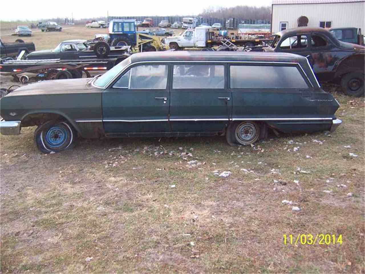 1963 chevrolet station wagon for sale for Nearest motor vehicle inspection station